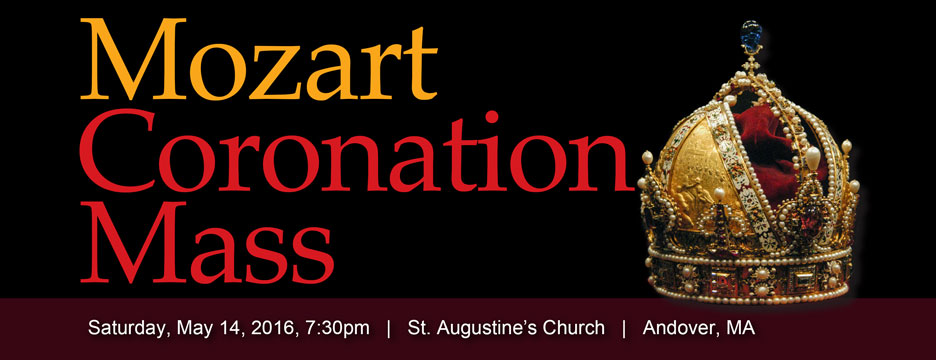May 14, 2016 Mozart-Schubert Mass Concert