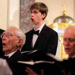 Choral Scholar Ryan Drew
